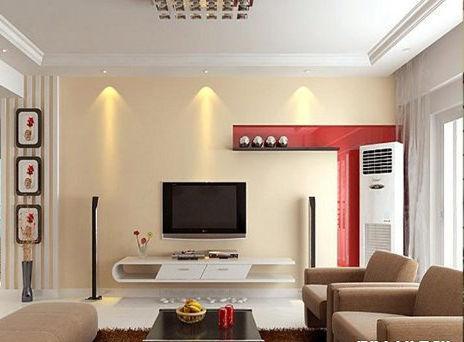 客厅电视墙装修效果图2011图片,影视电视墙装的潢家居生活