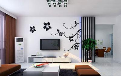 客厅影视墙效果图 智能空间巧方案 家装建材 常熟房产网
