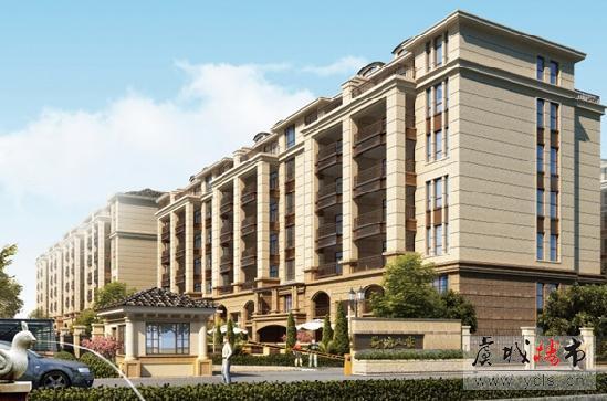 荷塘人家·瀚宫 荣耀加推180—215平景观楼王叠加别墅