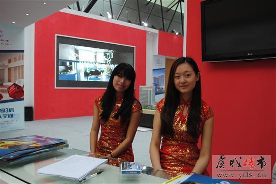 2013常熟房地产交易会上的美女(2)