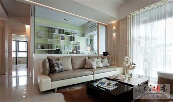 82平米三居室 现代简约风